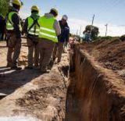 Se iniciaron las obras del colector sureste de Paraná y 20.000 vecinos podrán tener cloacas