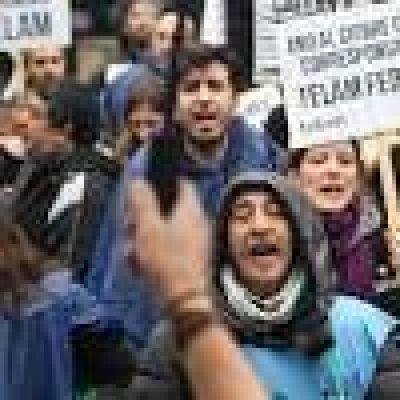 Trabajadores de Télam marcharon en defensa de las corresponsalías vaciadas