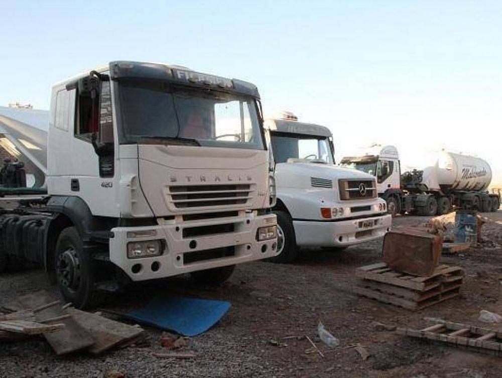 """Desde el sector del transporte de carga alertaron por el """"trabajo a pérdida"""""""