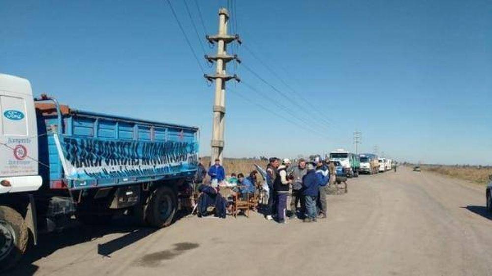 Se levantó el piquete de camioneros en Rosario
