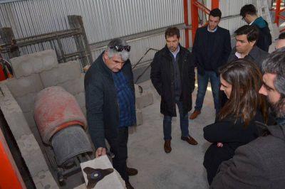 Potenciarán la red de electricidad para abastecer al Parque Industrial de Miramar