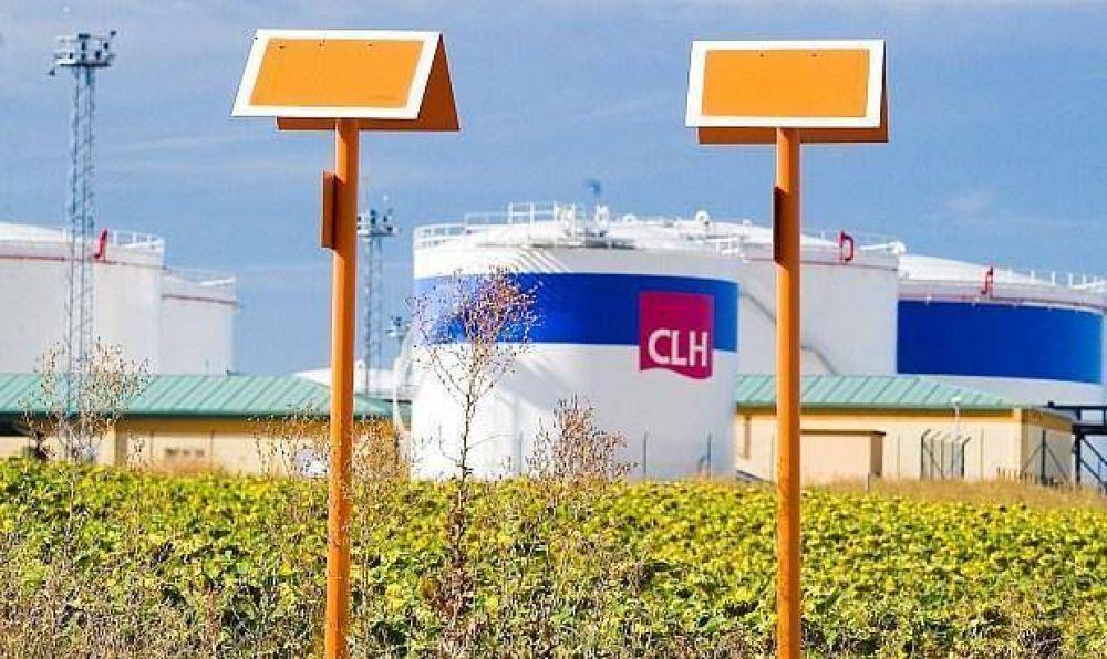 Las salidas de productos petrolíferos de CLH crecieron un 1,2% en julio