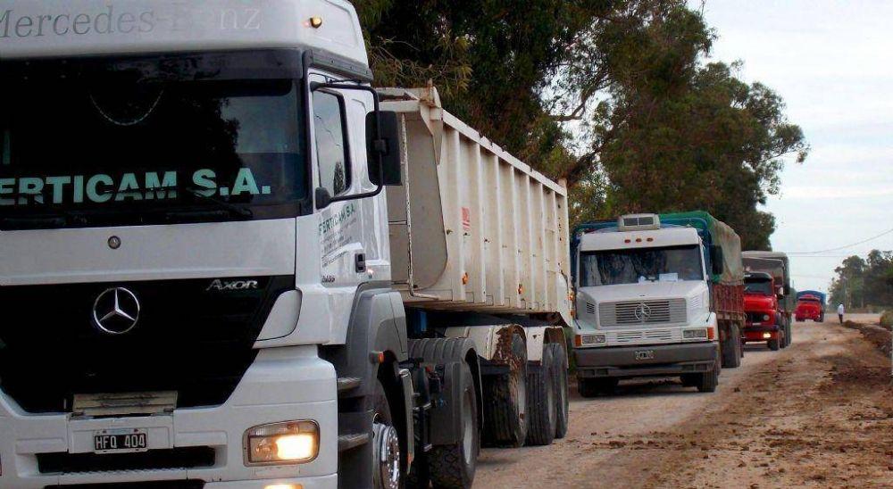 Transportistas lograron un acuerdo para la nueva tarifa de referencia con un incremento del 18%