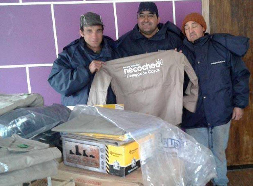 S.T.M.N.: Nueva ropa de trabajo para trabajadores de Claraz y Santamarina