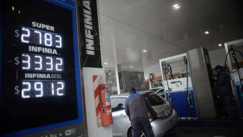Cayó en un 20% la venta de la nafta premium
