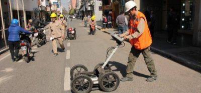 Estudio de suelo en calles que presentan hundimientos en el pavimento