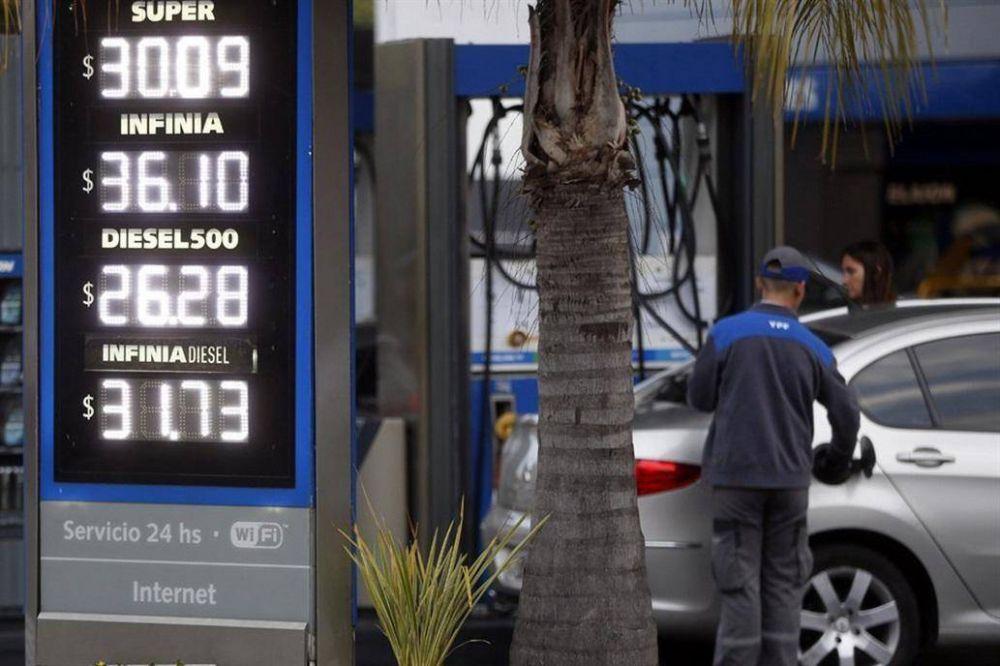 En menos de un mes, YPF aumentó dos veces el precio de sus naftas