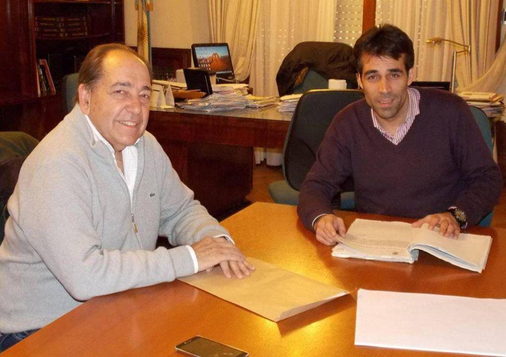 Roberto Rago y Facundo López en la misma vía