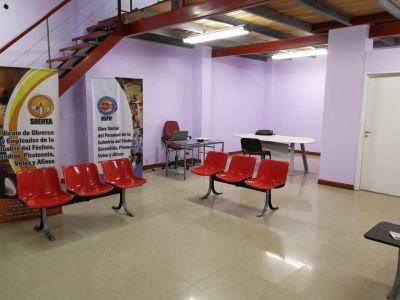 El Sindicato del Fósforo inaugura consultorios médicos en Campana