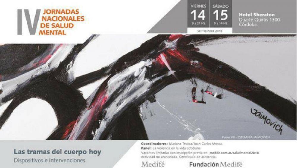 Para todo público: llegan las IV Jornadas Nacionales de Salud Mental a Córdoba (by Medifé)