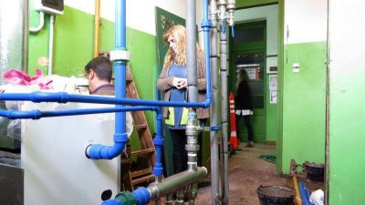 Efecto Moreno: más directores cerraron las aulas en Provincia por problemas con el gas