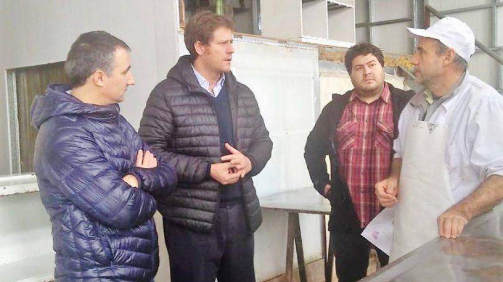 El Cluster Quesero se reunió con el presidente de la Autoridad del Agua de la Provincia