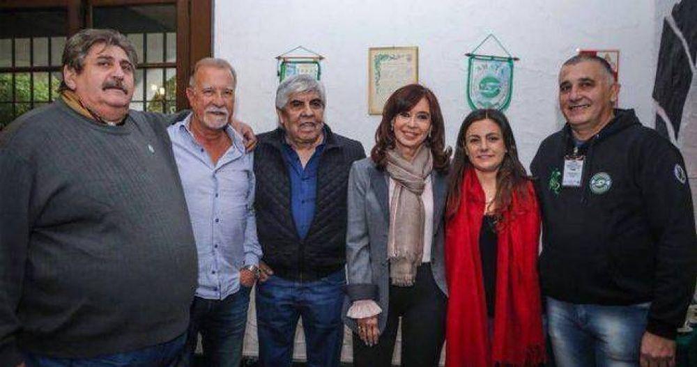Tras juntar a CFK y Moyano, Pignanelli se entusiasma con la unidad peronista con el laudato del Papa como telón de fondo