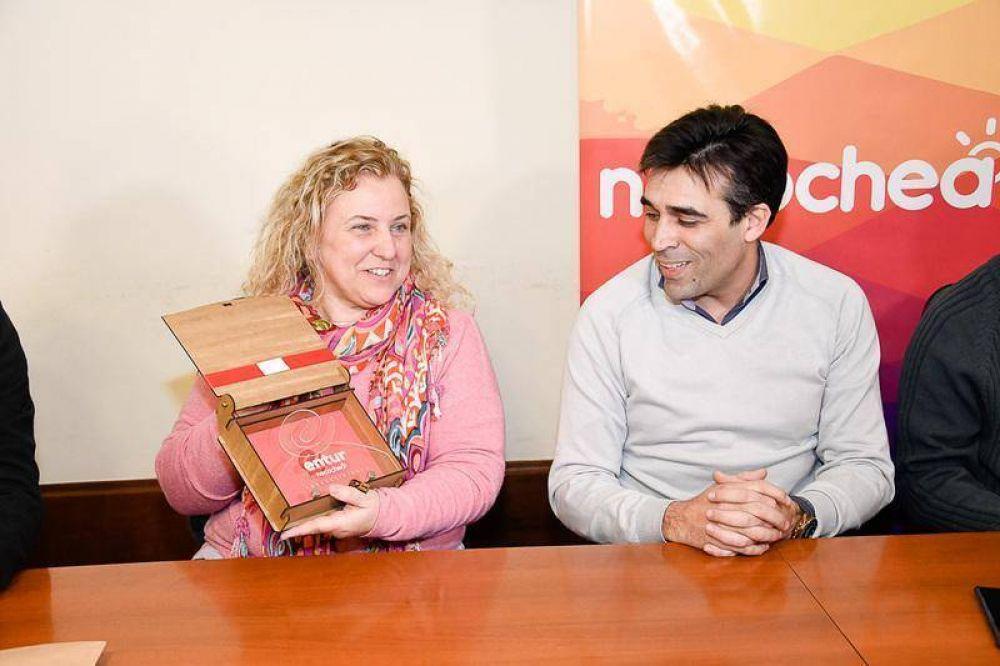 López celebró la vuelta de las Olimpiadas de Matemáticas Ñandú a Necochea