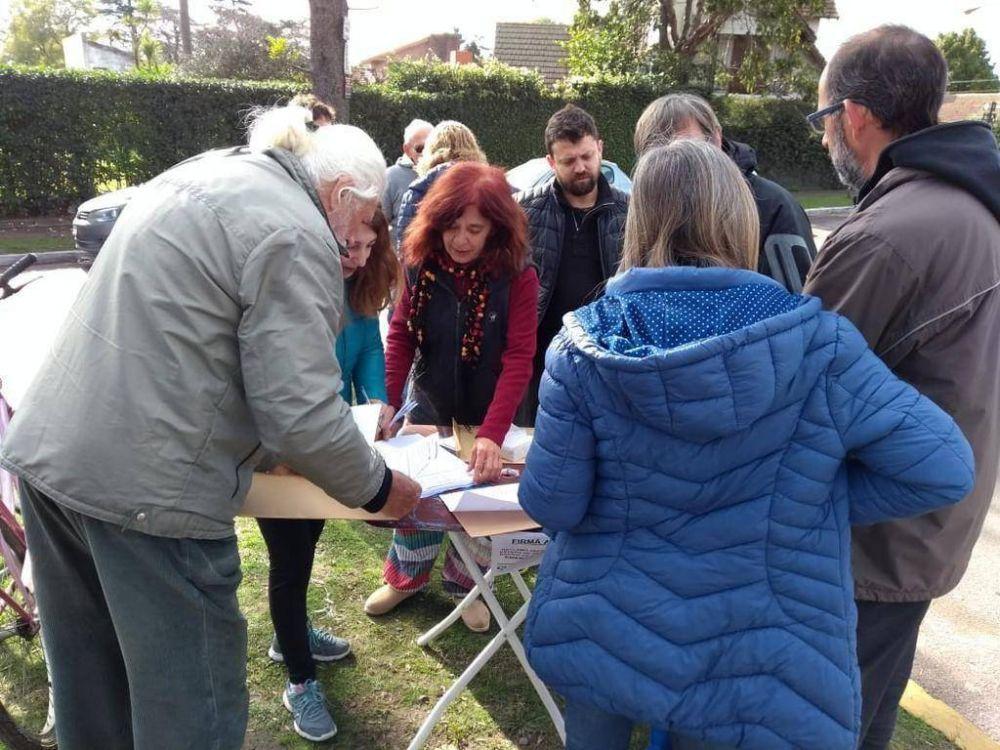 Vecinos de Villa Castells avanzan en el pedido de obras hidráulicas