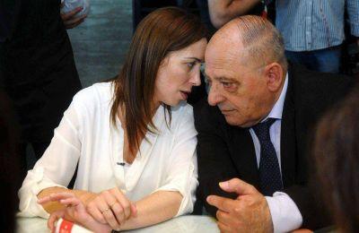 La gobernadora Vidal apuntó a Arroyo por los aportes ilegales