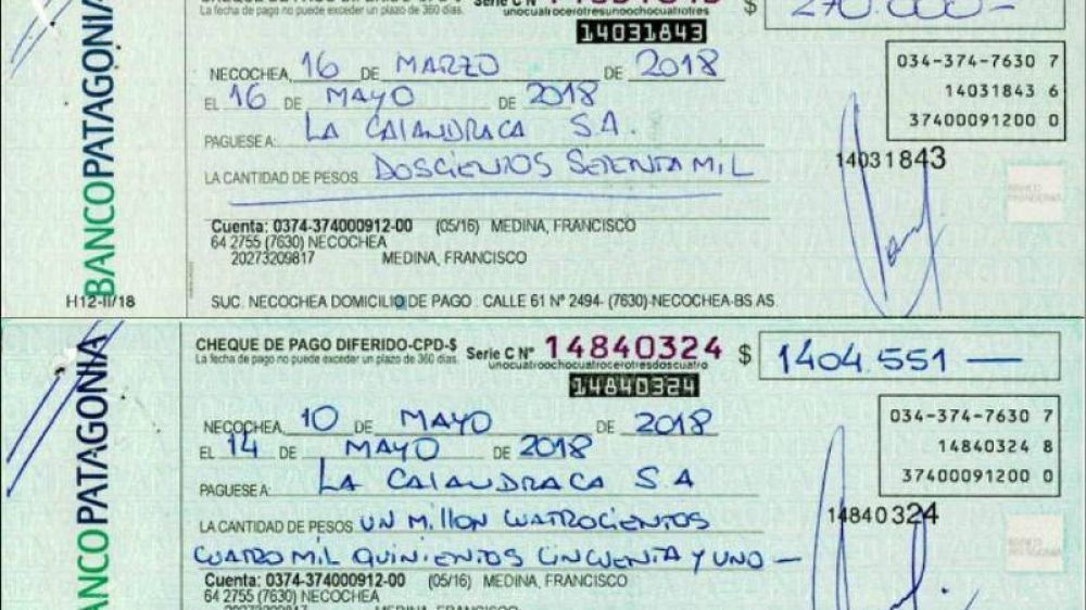 Nuevos cheques rebotados complican a Medina