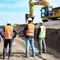 Avanza la obra del Parque Eólico: la impactante obra avanza con la excavación de las bases