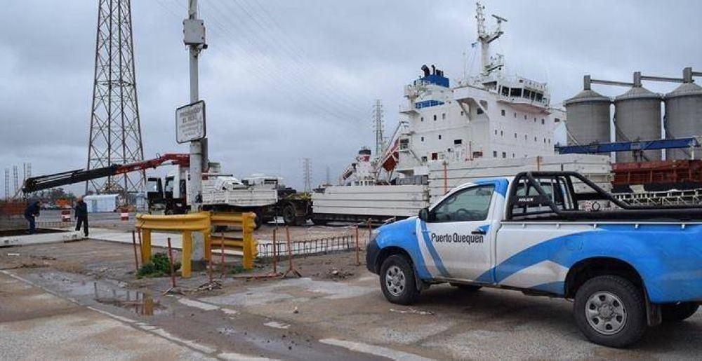 09 AGO 2018 Balanzas para el del transporte de carga en el puerto