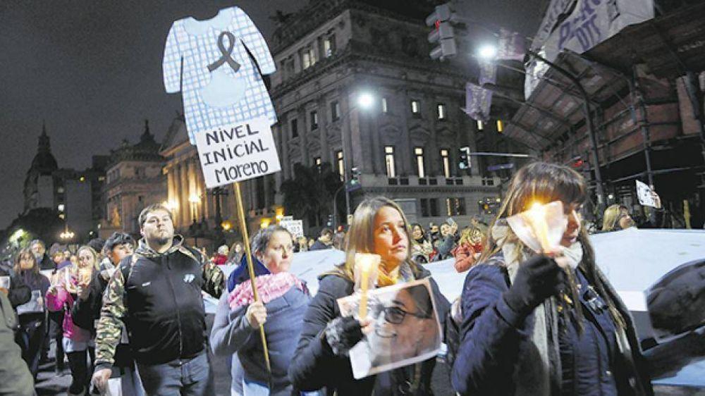 Marcha de silencio por Sandra y Rubén