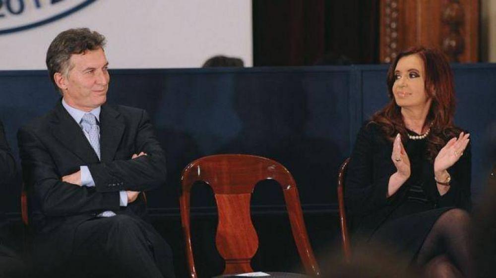 Se reparten Cristina y Cambiemos el costo de los cuadernos y sacuden las encuestas para el 2019