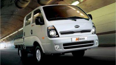 Kia K2500, el utilitario se renueva: versiones y precios