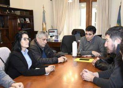 Casineros se reunieron con el intendente Facundo López