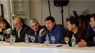 Javier Gastón participó de un encuentro de dirigentes del Frente Renovador en Miramar