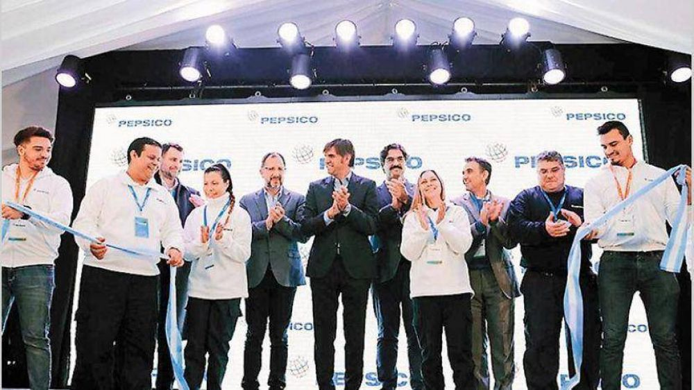 PepsiCo inauguró planta ampliada con una inversión de u$s 28 millones