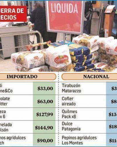 Curioso: importados gourmet, más baratos que nacionales