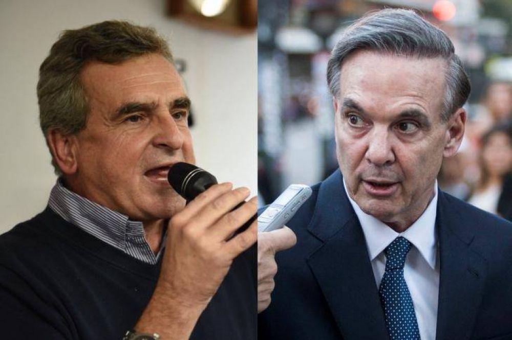 Confirman Rossi y Pichetto sus candidaturas y se muestran ajenos al escándalo de los Cuadernos