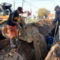 El municipio adjudicó dos importantes obras de agua y cloaca