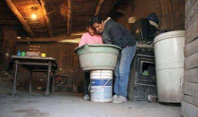 La odisea de unas 20 familias que viven hace al menos 9 meses sin agua potable