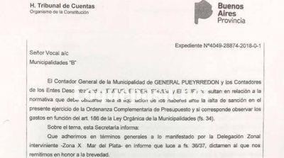 El Tribunal de Cuentas obliga a Mourelle a presentar la Ordenanza Complementaria