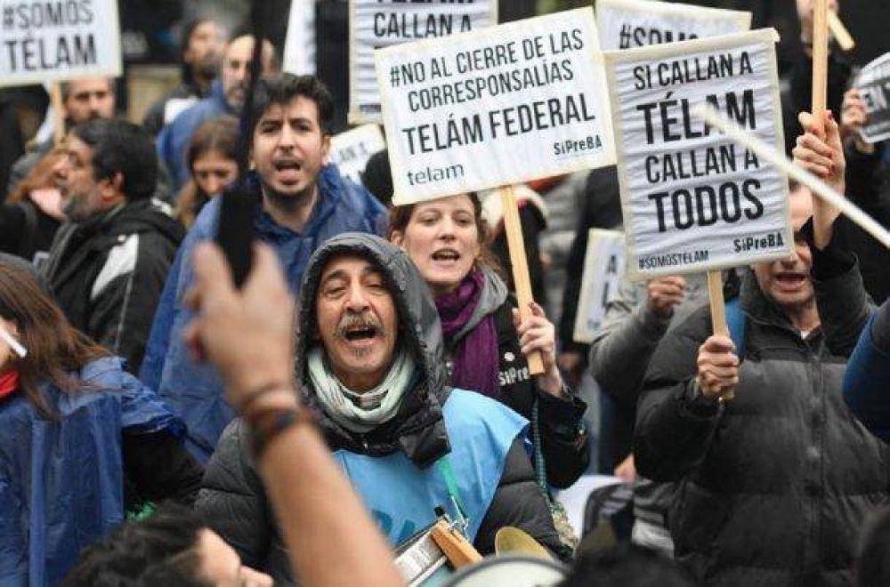 La Justicia ordenó la reincorporación de otros 12 trabajadores de Télam
