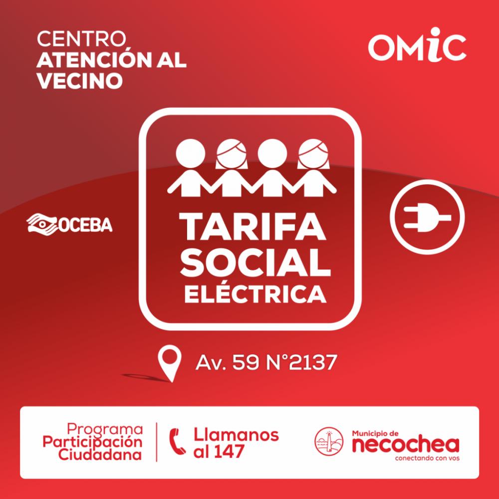 Se tramita la Tarifa Social Eléctrica en el municipio