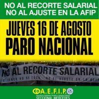 Los trabajadores de la AFIP van al paro