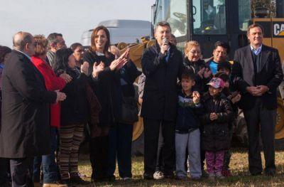 Destacan grandes avances en las obras que anunció Macri hace dos años