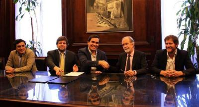 Provincia y Banco Nación firmaron convenio para ampliar crédito a pymes