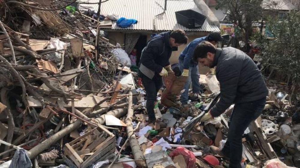 Un vecino de Neuquén acumuló 150 toneladas de residuos