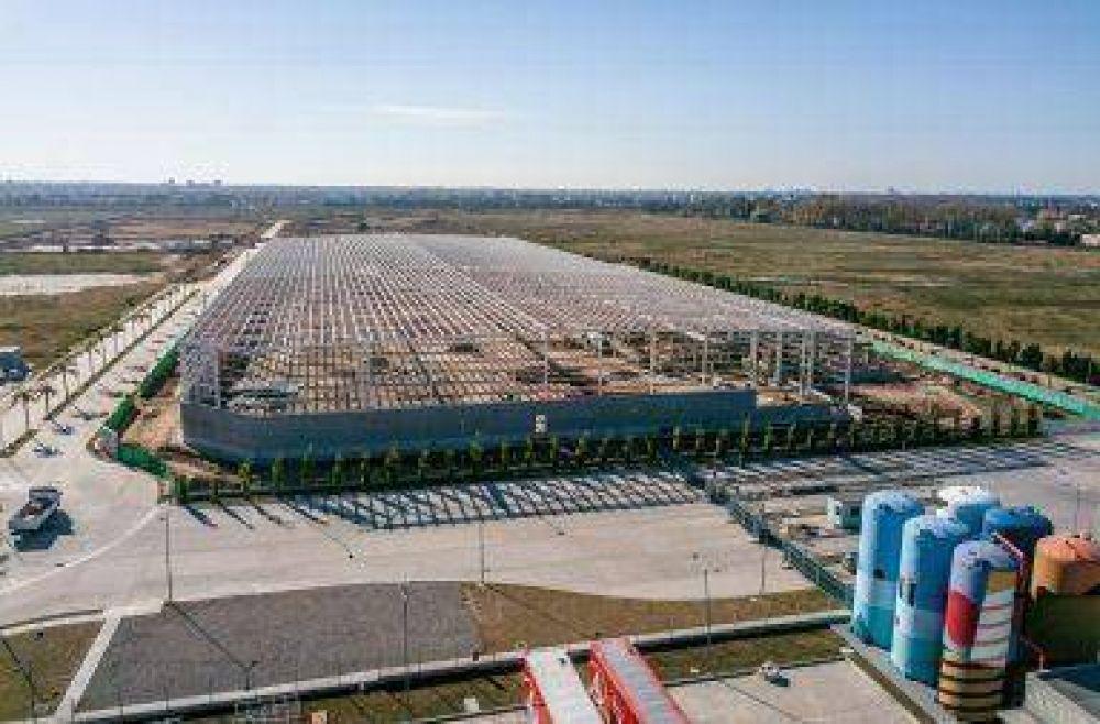 Bautec avanza con la construcción del nuevo centro de distribución de L'Oréal en Tigre