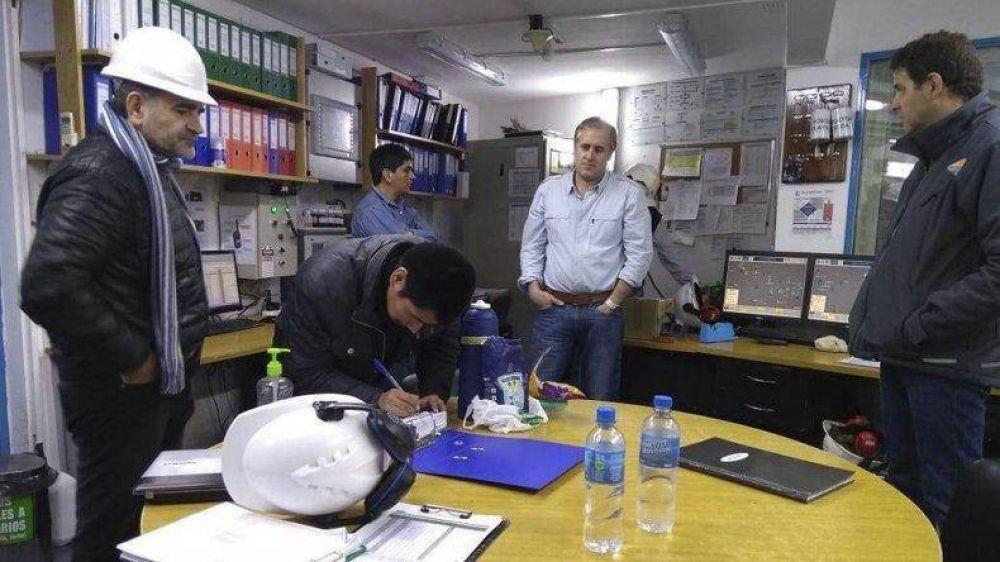 Instituto de Energía inspeccionó las centrales térmicas de YPF y Sinopec