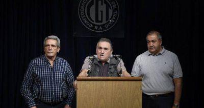 La CGT no va a La Rosada y enfría cualquier negociación con Macri hasta el plenario del 29