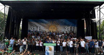 Con Hugo Moyano como principal orador, hoy se lanza la Multisectorial del 21F