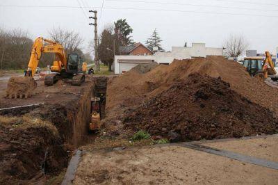 La Plata: continúan las obras dentro del Plan Integral para mejorar el drenaje ante nuevas lluvias