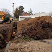 El municipio platense avanza con obras hidráulicas para mejorar el sistema de desagües