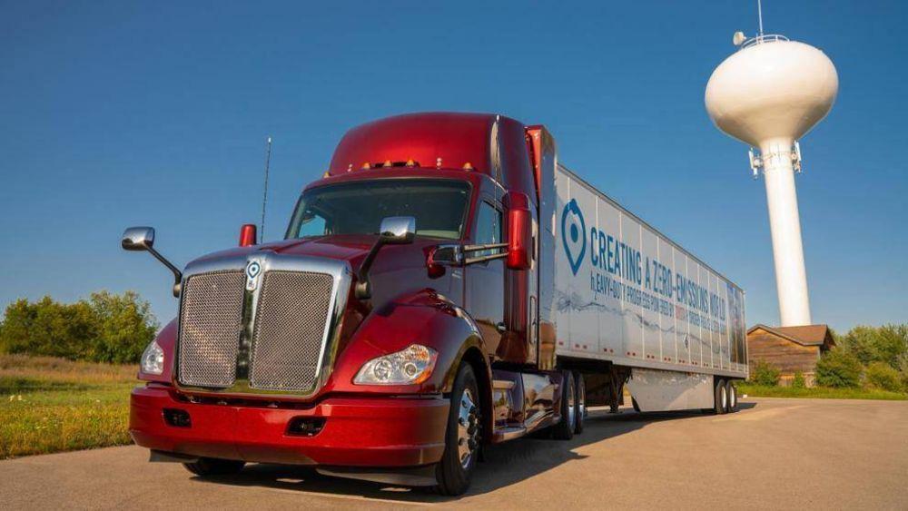 Toyota presenta lo último en transporte sostenible con un camión de hidrógeno
