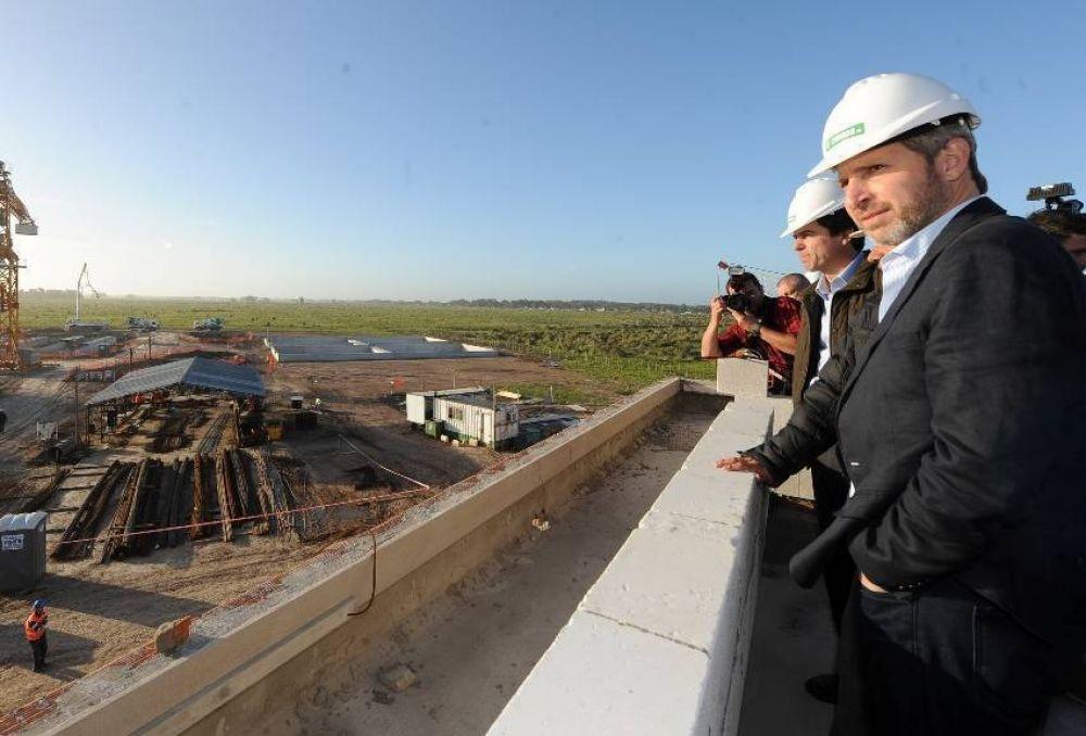 Vidal y Frigerio inauguran este viernes la Planta Depuradora de OSSE