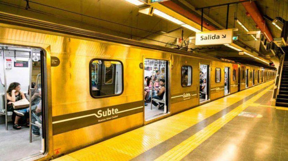 Metrodelegados paralizan de 13 a 14 todas las líneas de subte y el premetro