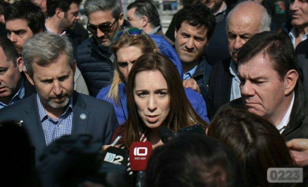 En medio de los roces, Vidal dijo que con Arroyo tiene una